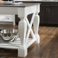 Decorative island legs are an easy way to bring style to your kitchen.