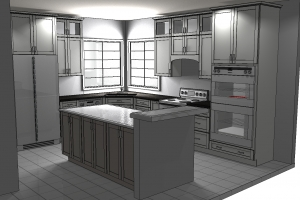 Kitchen design new leaf cabinets counters tacoma - Kitchen design process ...